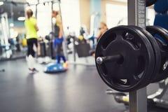 在健身现代健身房 图库摄影