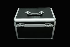 在储藏盒的钥匙 免版税库存照片