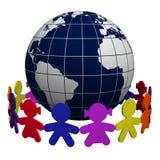在儿童世界范围内 免版税库存照片