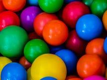 在儿童的党的色的球。 免版税库存照片