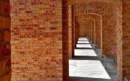 在光和阴影的建筑学秀丽 免版税库存照片