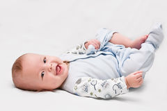六个月的孩子 库存照片