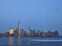 在光的进贡在黄昏 免版税图库摄影