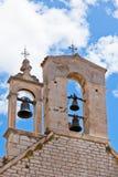 在克罗地亚高耸的响铃 图库摄影