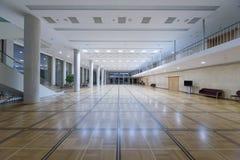 在克里姆林宫宫殿的木条地板大厅 免版税库存照片