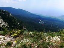 在克里米亚半岛国家公园 库存照片