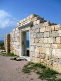 在克里米亚旅行间 免版税库存图片