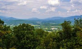 在克雷格县,弗吉尼亚俯视 库存图片