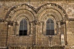 圣墓教堂门面 免版税图库摄影