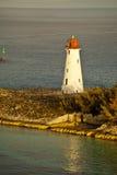 灯塔在巴哈马 库存照片
