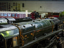在全国交通博物馆的展览在约克,约克夏英国 免版税图库摄影