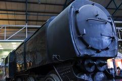 在全国交通博物馆的火车在约克,约克夏英国 免版税图库摄影