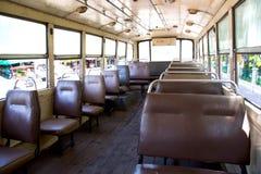 在公共汽车的空位 免版税图库摄影