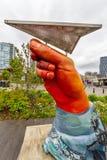在公共的手 免版税图库摄影