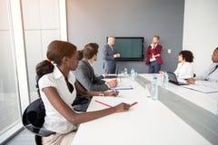 在公司的国际会议 免版税库存照片