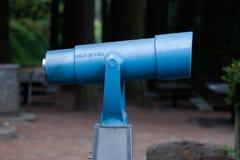 在公园的反光镜 免版税库存图片