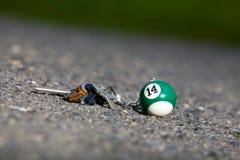 在公园的失去的钥匙 免版税图库摄影