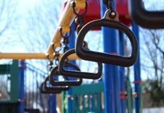 在公园的平直的猴子圆环 图库摄影