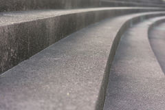 在公园的走的台阶 图库摄影