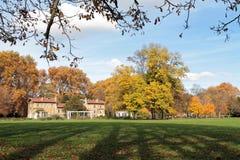在公园de la太特d'Or的Autum颜色 免版税图库摄影