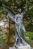 在公墓Engesohde的坟茔在汉诺威,德国 库存照片
