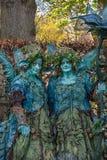 在公平矮子的幻想的森林若虫 免版税库存照片