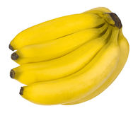 在关闭的香蕉 库存照片