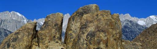 在内华达山山,加利福尼亚的阿拉巴马小山 免版税库存图片