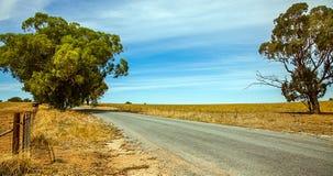 在内地在Narrandera澳大利亚 库存照片