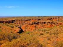 在内地澳大利亚人风景 免版税库存图片