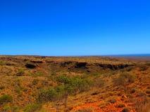 在内地澳大利亚人风景 图库摄影