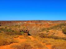 在内地澳大利亚人风景 免版税图库摄影