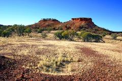 在内地澳洲峡谷 免版税库存照片