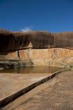 在内地集水量水 免版税图库摄影