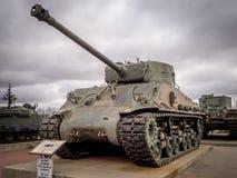 在军事博物馆的坦克,卡尔加里 免版税图库摄影