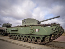 在军事博物馆的坦克,卡尔加里 库存图片