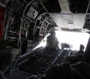 在军用砍刀里面在阿富汗 免版税库存图片