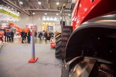 在农业市场的机械 免版税库存照片