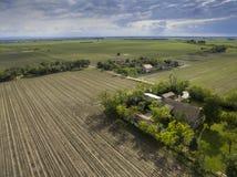 在农业领域上 免版税库存图片