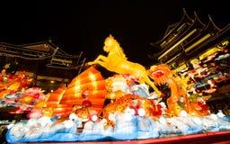 在农历新年的灯节。2014年2月16日 库存照片