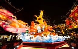 在农历新年的灯节。2014年2月16日 免版税库存图片