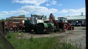 在农场的农机 股票视频