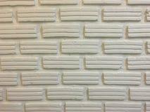 在农村的白色砖墙背景 免版税图库摄影