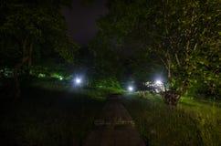 在农村风景的夜空 美好的夜满天星斗的天空,阿塞拜疆 库存照片