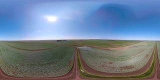 在农田VR360的灌溉系统 影视素材