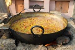 印第安咖喱 库存图片