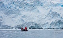 在冰川前面的黄道带 库存照片