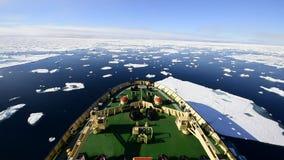 在冰的旅行,北极 影视素材