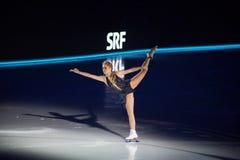 在冰的艺术2018年 免版税库存图片
