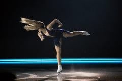 在冰的艺术2018年 免版税库存照片